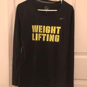 Nike Dri-Fit Long Sleeve tee size Medium